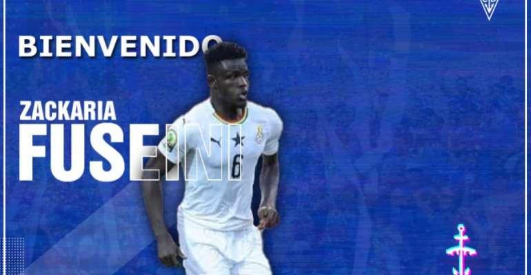 Defender Zackaria Fuseini Seals Move To Spanish Side San Fernando CD