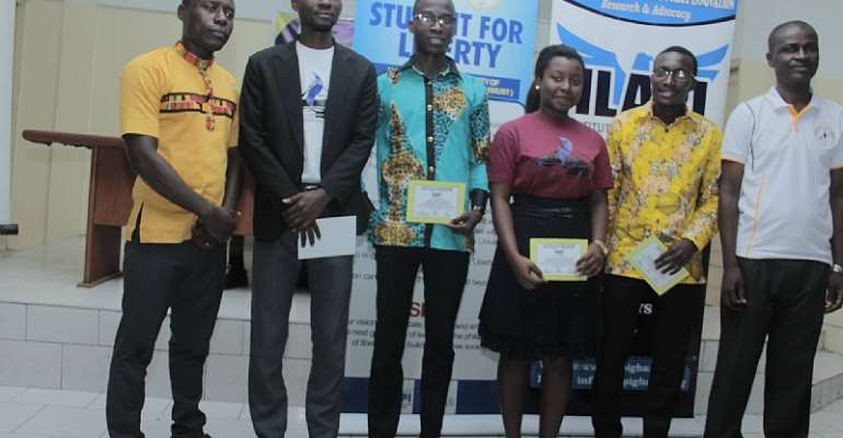 Students For Liberty At Kwame Nkrumah University Of Science And Technology (SFL-KNUST) Outdoored