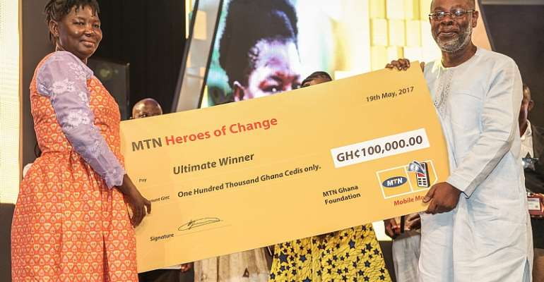 MTN Heroes Of Change Has Become My Voice Of Hope – Genevieve Basigha