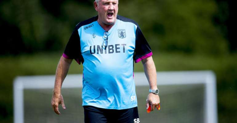 Albert Adomah's Aston Villa Sack Manager Steve Bruce After One Win In 10 Matches