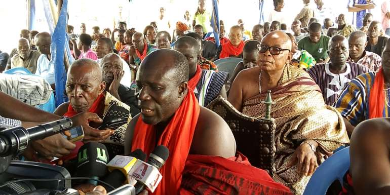Axim Chiefs urge government to disregard Nsein Chief's plans to halt Axim Fishing Harbour