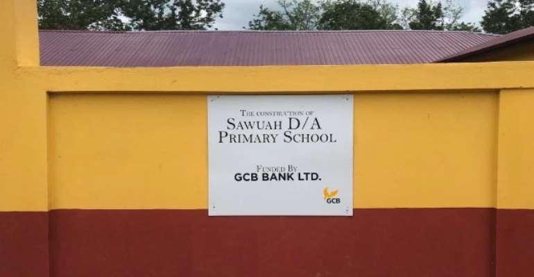 GCB Constructs 6-Unit Classroom Block In Sawuah