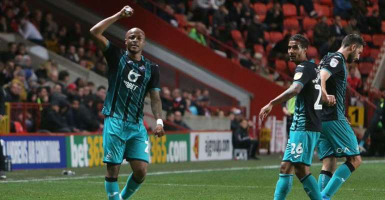 Watch Andre Ayew's Winner For Swansea City [VIDEO]