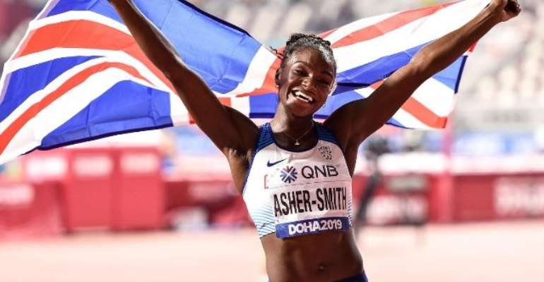 Doha 2019: Dina Asher-Smith Claims Historic Gold In 200m