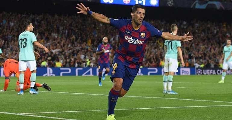 UCL: Suarez At The Double As Barcelona Break Down Impressive Inter