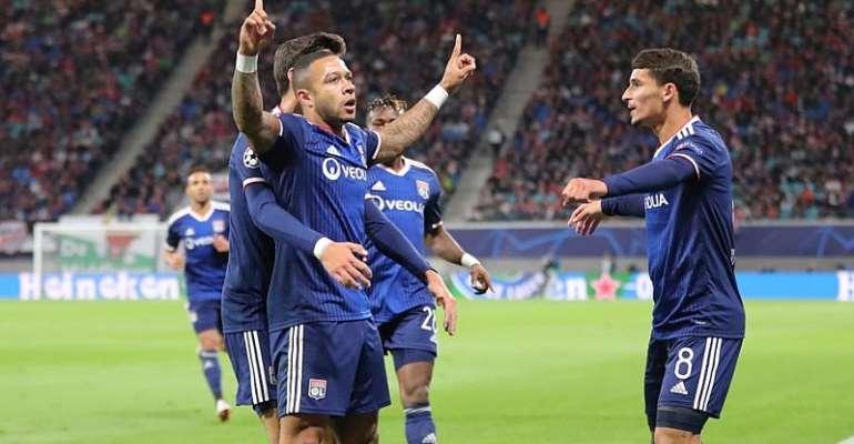 UCL: Lyon Punish Dreadful Defending To Beat Leipzig