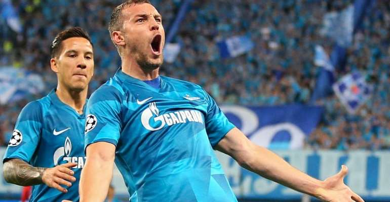 UCL: Zenit Grind Down Benfica In Home Win