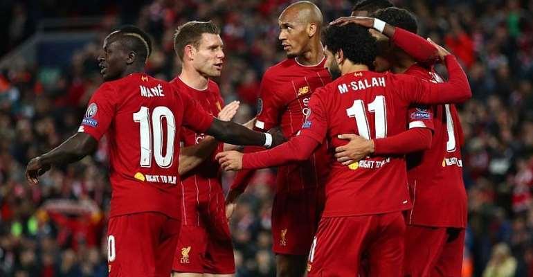 UCL: Salah Double Ensures Liverpool Survive Salzburg Scare