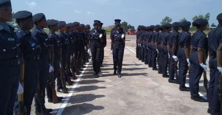 Pwalugu: 173 Police Recruits Pass Out