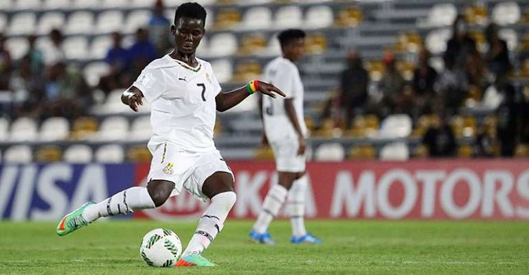 Ernestina Abambila Joins Black Queens Camp For Kenya Clash