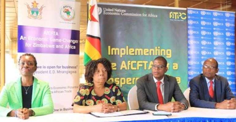 ECA, AUC Pledge Support To Zimbabwe On AfCFTA Implementation