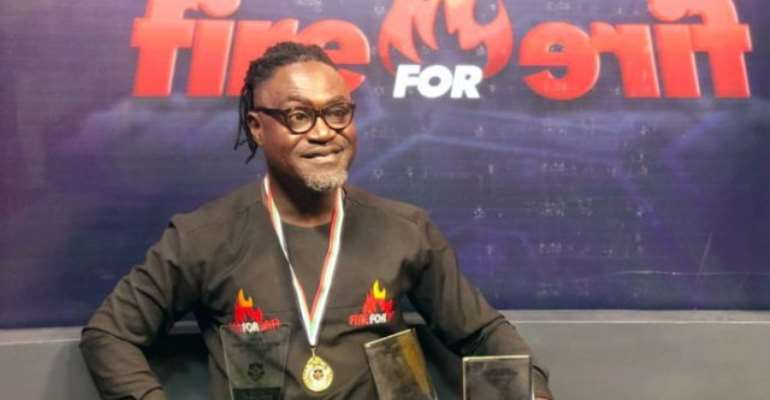 Countryman Songo wins big at Ghana Actors, Entertainment Awards