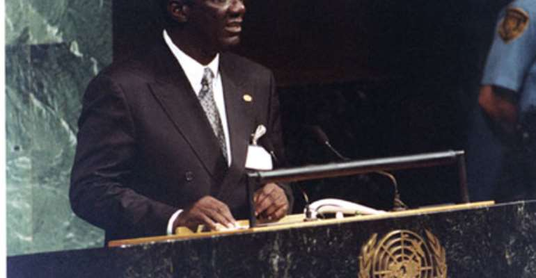 Kufuor to attend UN Ordinary Session