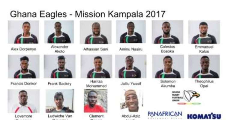 Ghana Names Contingent For 2017 Africa Rugby Sevens Championship
