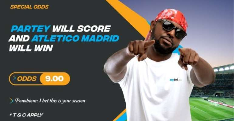 Mybet.Africa: Huge Odds On Thomas Partey To Score Against Valladolid