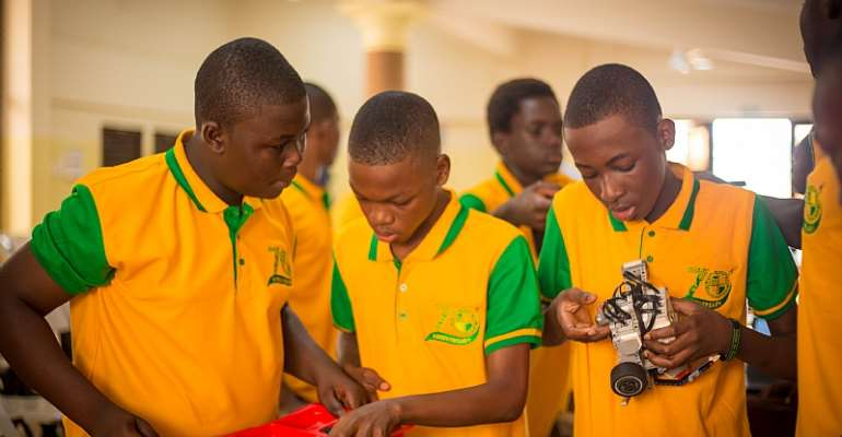Christian Service University College Supports High School Robotics Competition