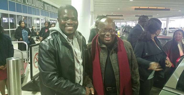Ghanaian-USA Based Solomon Owusu Resigns From NPP