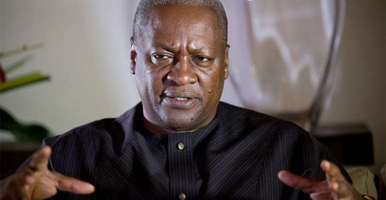John Mahama Transmogrifies His Desperate Moves To An Obsession