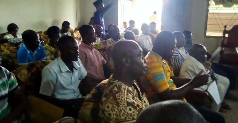Dormaa East MP, DCE Commend Assemblymembers