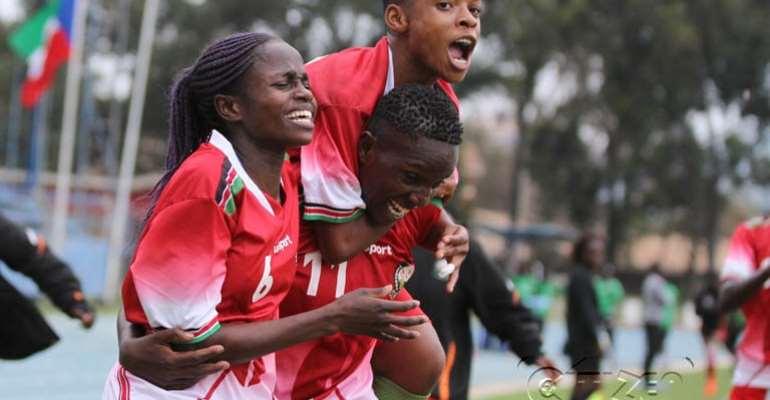Kenya Striker Mwanahalima Adam Targets Victory Against Black Queens