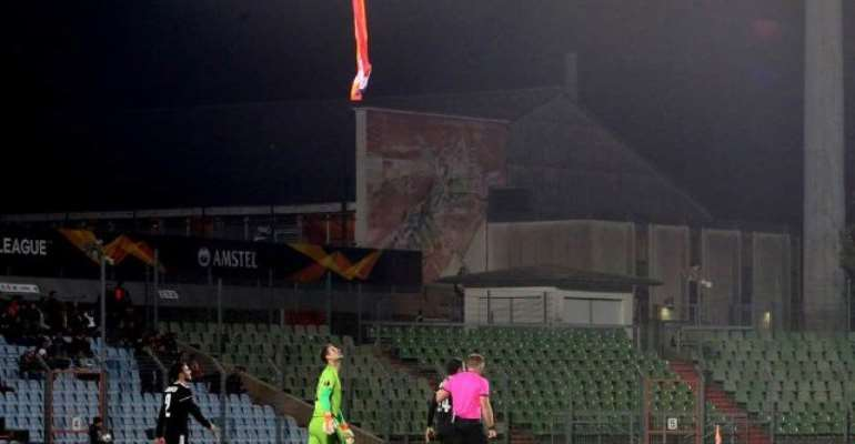 Drone Stops Europa League Game In Luxembourg