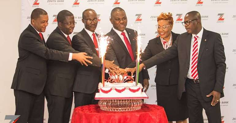 Zenith Bank Ghana Celebrates 14th Anniversary