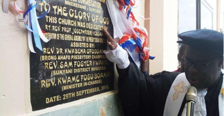 Presbyterian Church Inaugurates 2,500 Capacity Building