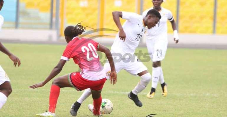 Tokyo 2020 Qualifiers: Black Queens Draw Goalless With Kenya In Accra