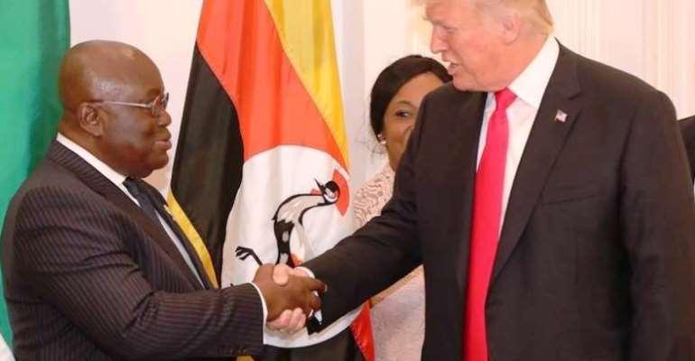 Covid-19: Akufo-Addo Wishes Trump Well