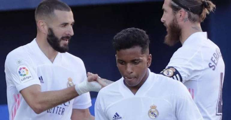 La Liga: Real Madrid Win Again With Helping Hand From Courtois