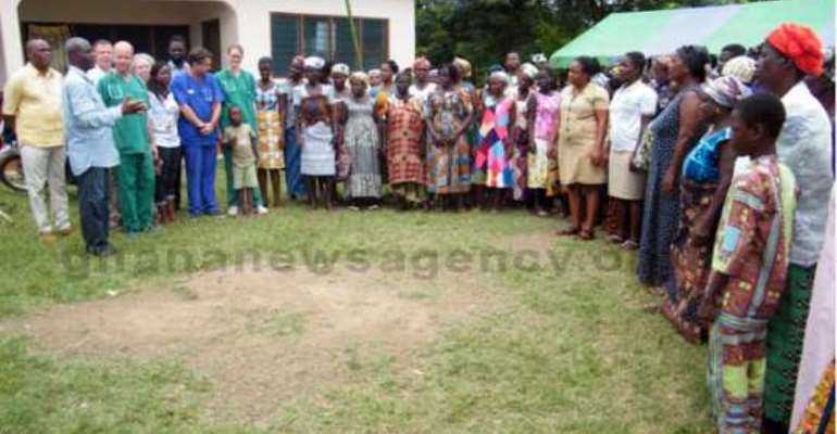 Two Communities Benefit From Health Screening Projects