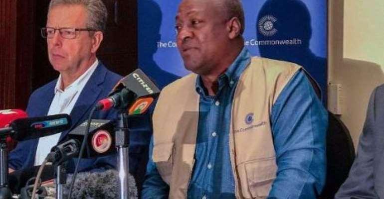 Liberia Election: Mahama  Lead ECOWAS Observer Mission