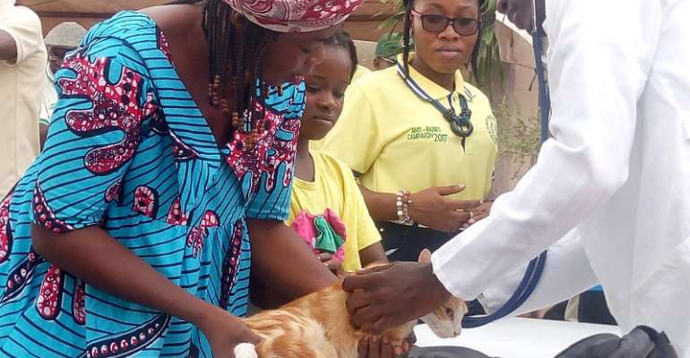 KNUST vet students to vaccinate 1000 cats, dogs against rabies
