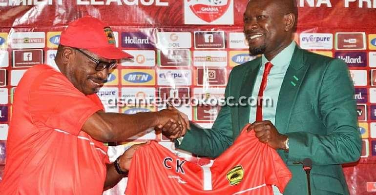 Asante Kotoko ARCC Welcomes C. K Akonnor