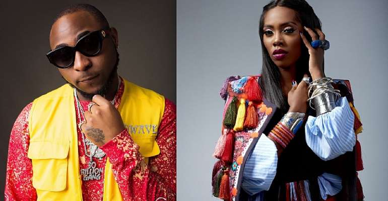 Davido, Tiwa Savage & Others Nominated For 2018 Mtv Emas Best African Act Category