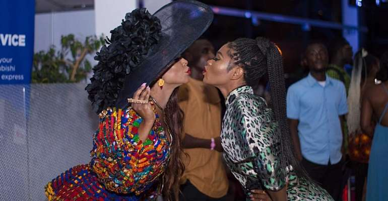 Eazzy Turns Head At The 2019 Nivea Accra Fashion Week