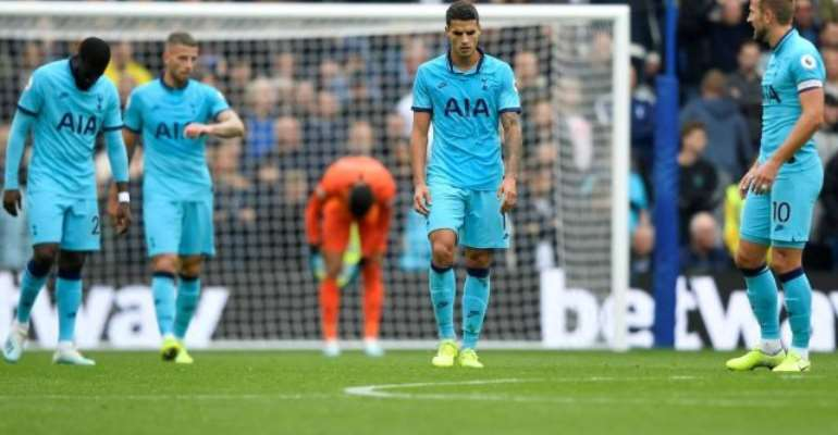 PL: Spurs' Woes Continue With Brighton Defeat