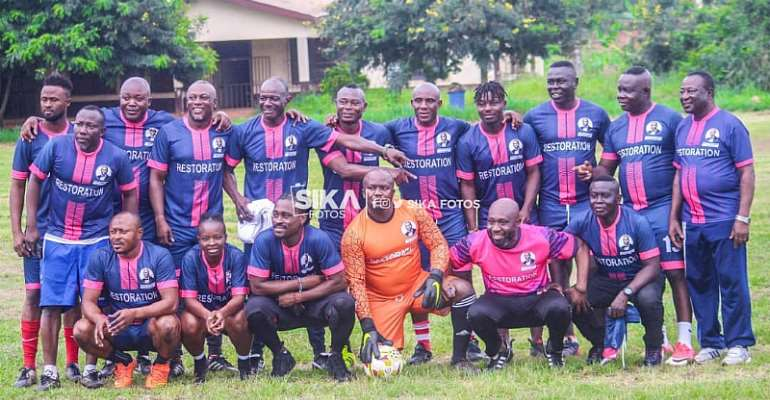 George Afriyie Organizes 'Restoration' Football Game Before Manifesto Launch In Sunyani [PHOTOS]