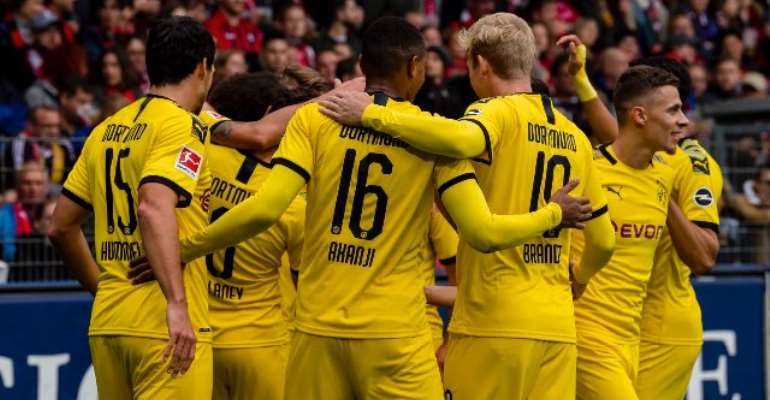 Bundesliga: Dortmund Stretch Winless Run With 2-2 Draw At Freiburg