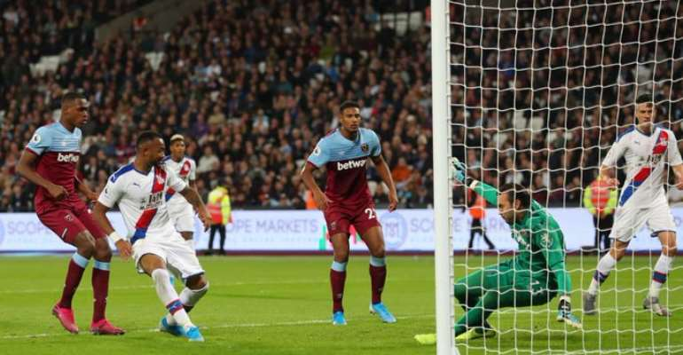 Jordan Ayew Propels Crystal Palace To Victory Against West Ham
