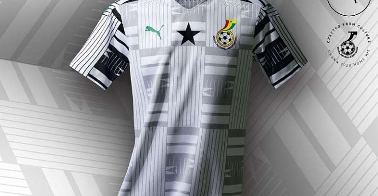 New home Black Stars jersey