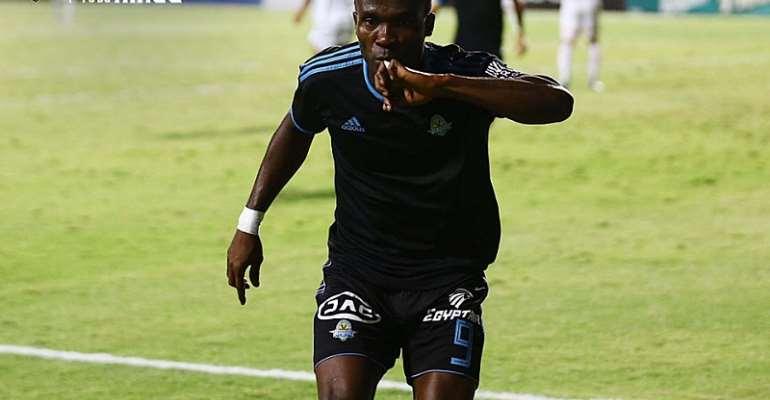 Pyramids FC striker John Antwi
