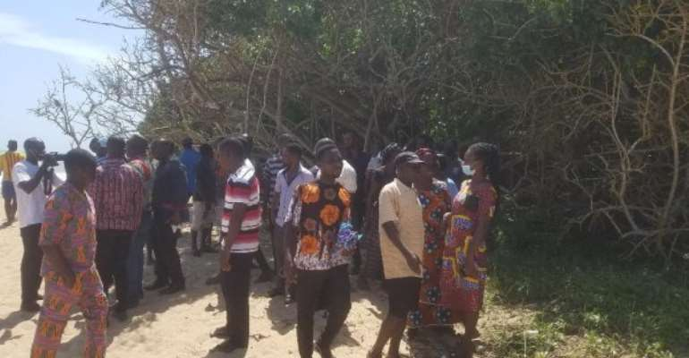 Komenda: Four children who swum at sacred portion of the sea drown, two rescued