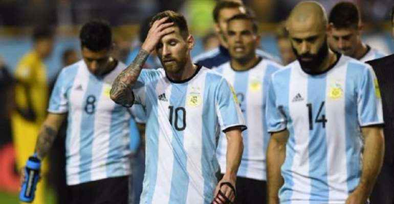 Messi, Argentina In Danger Of Missing Out On World Cup