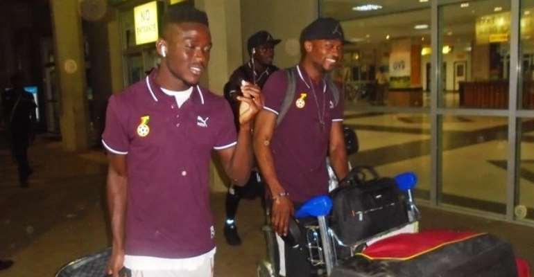 Ghana Black Stars Arrives In Uganda Ahead Of 2018 World Cup Qualifier