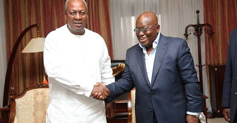 Akufo-Addo Is Already Debating Mahama on All Levels of Our National Development