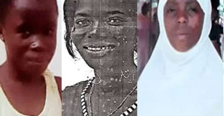 Rosina Gyekyewaa, Augustina Koomson and Fauzia Aliu