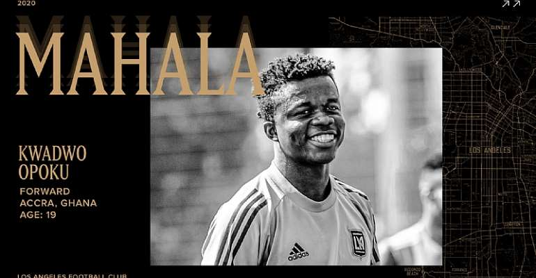 Los Angeles FC Announce Signing Of Ghanaian Teen Kwadwo Opoku