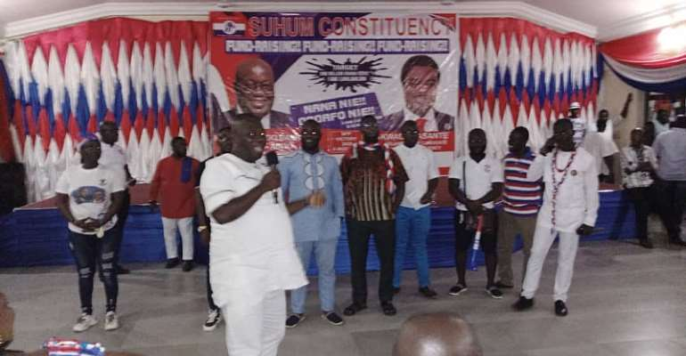 Philanthropist Donates Nissan Pickup, Branded T-Shirts To Support Suhum NPP Campaign