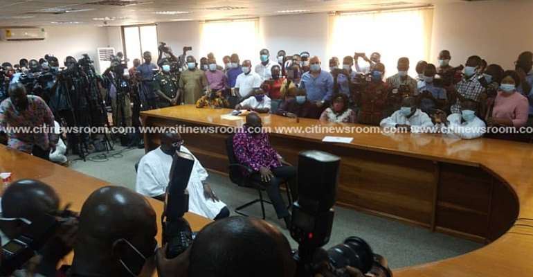 Serious-Minded Ghanaians Know EC's Processes Are fair – Akufo-Addo